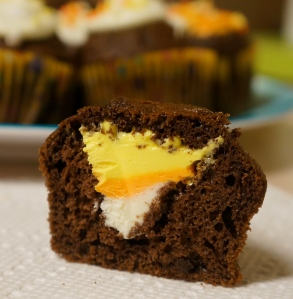 candy-corn-cupcake-complete
