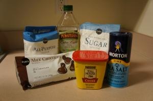 Brownie-in-a-mug-ingredients