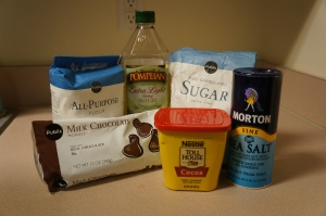 Brownie-in-a-mug-ingredients