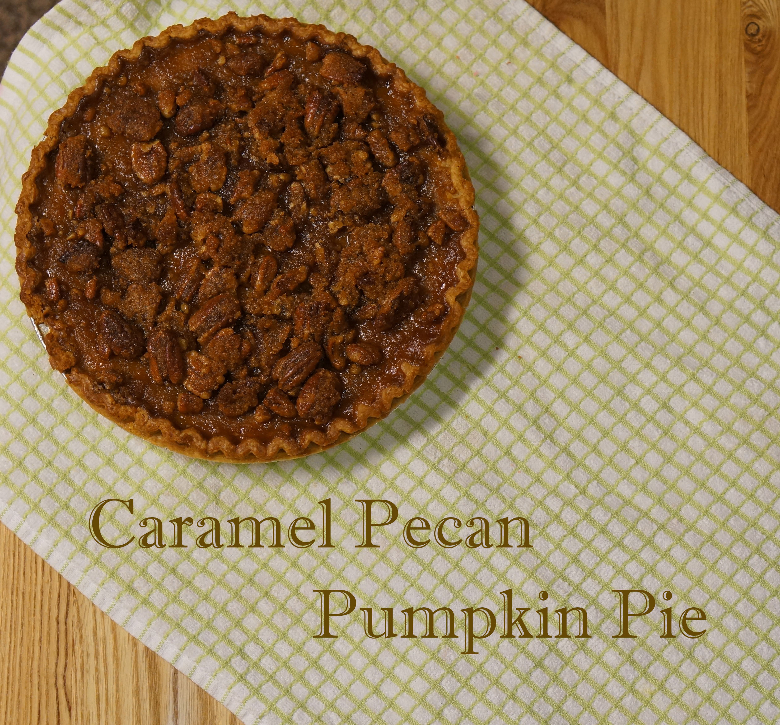 Watch Pumpkin Pie with Pecan-Caramel Topping video
