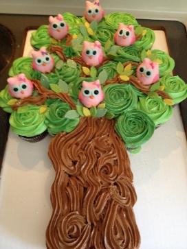 Pinterest cupcake tree