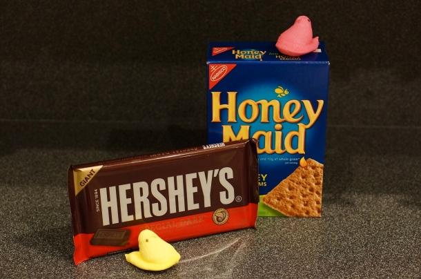 ingredients for easter dessert