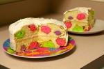 Neon Polka Dot Cake
