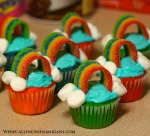 Mini Rainbow Cupcakes Pinterest