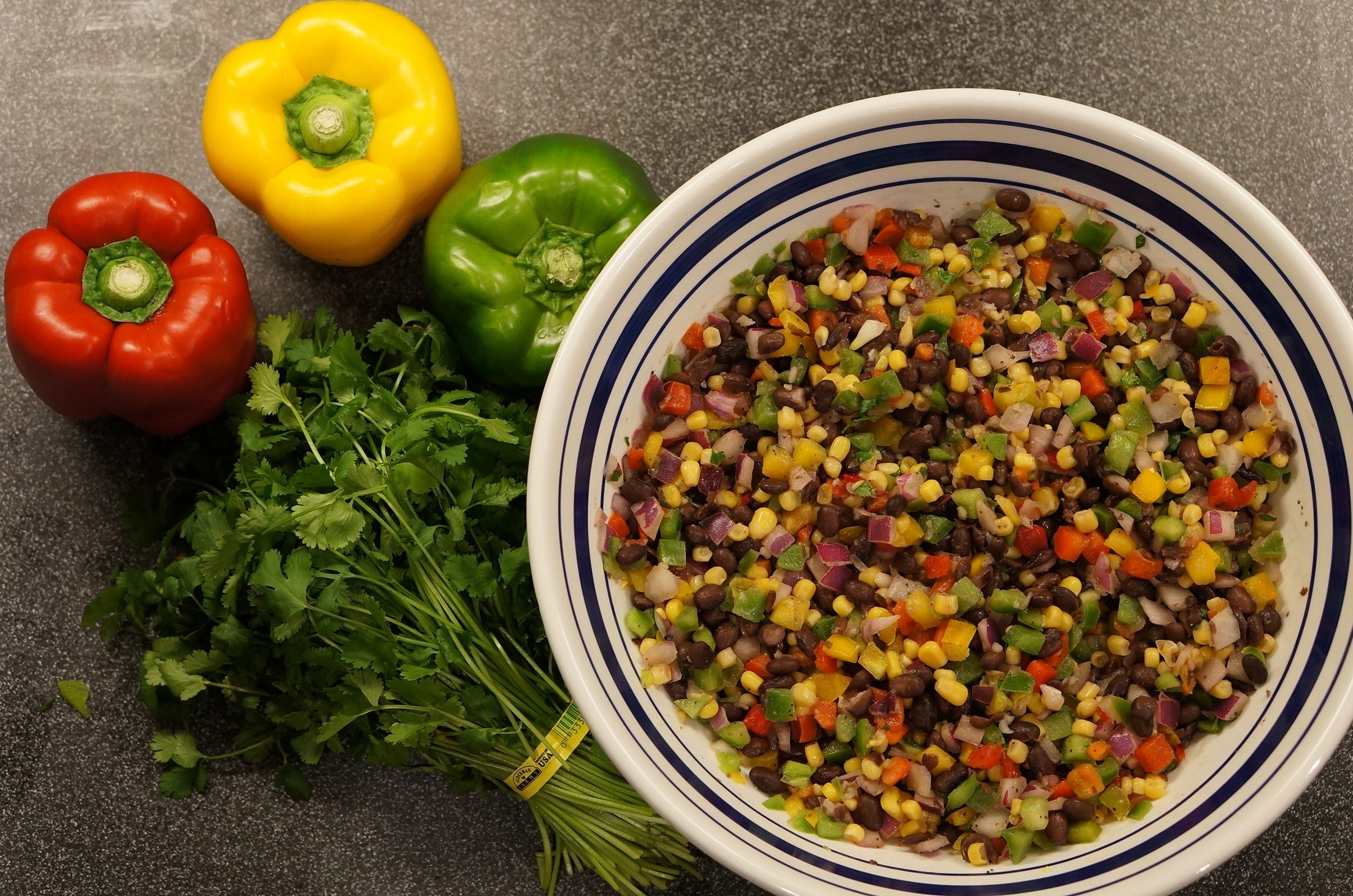 The Perfect Black Bean Salsa - We're Calling Shenanigans