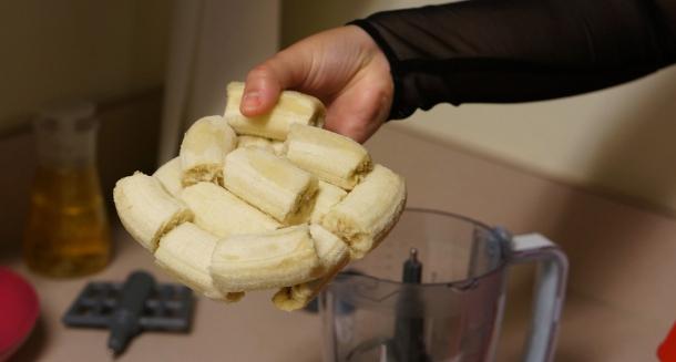 Bananas in processor