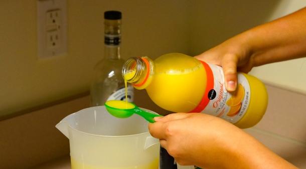 Margarita Popsicle ingredients