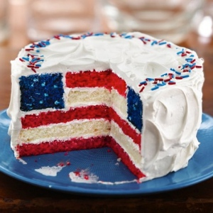 American Flag Cake Betty Crocker