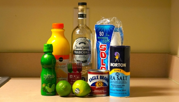 Margarita pop ingredients