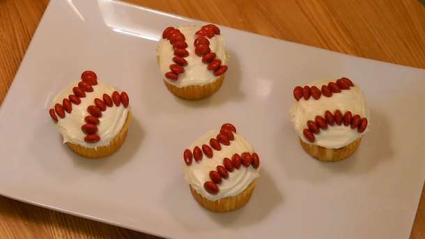 baseball dessert