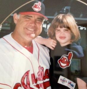Fathers Day baseball cupcakes