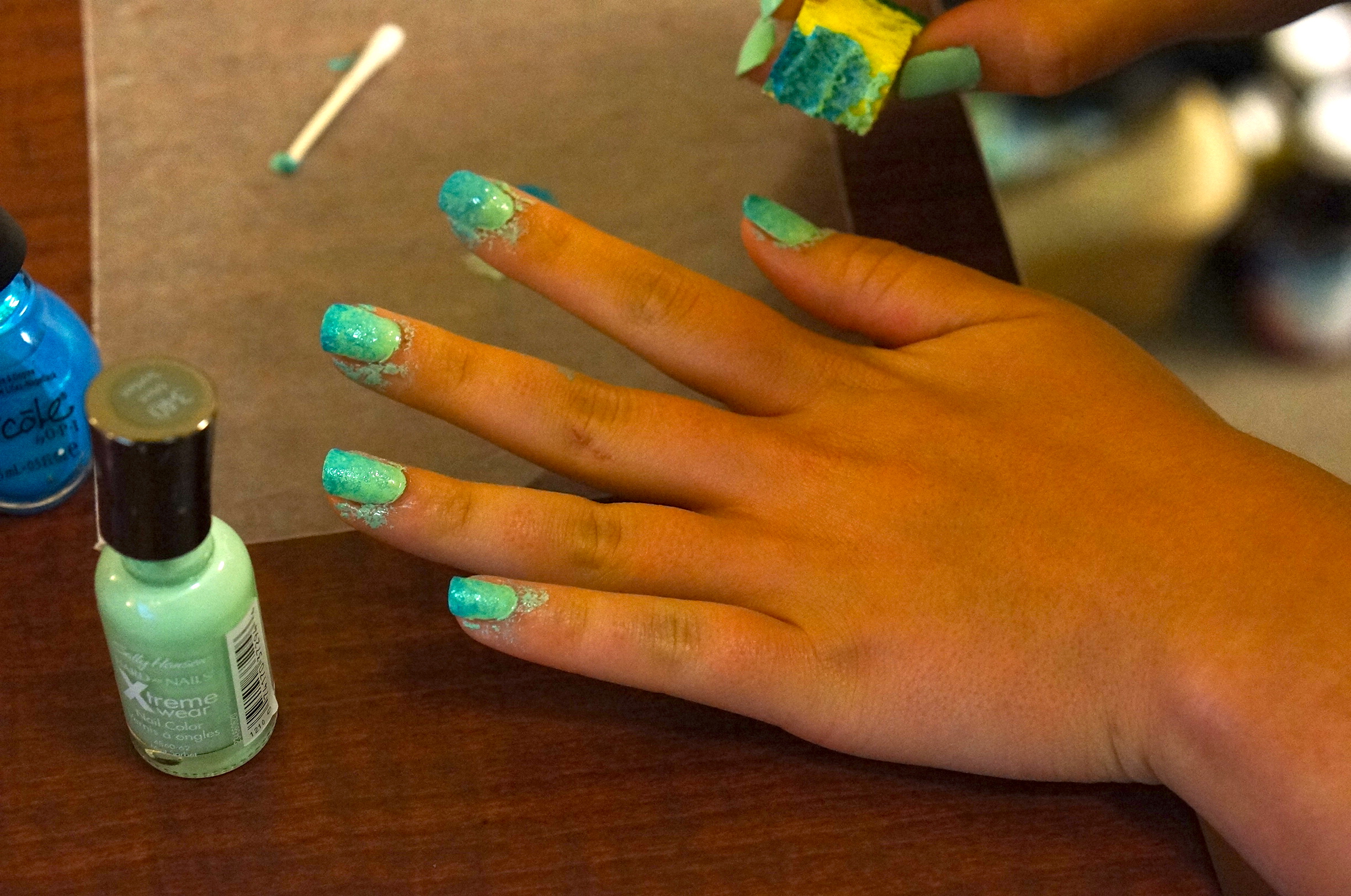 How To Do Ombre Nails - We\'re Calling Shenanigans