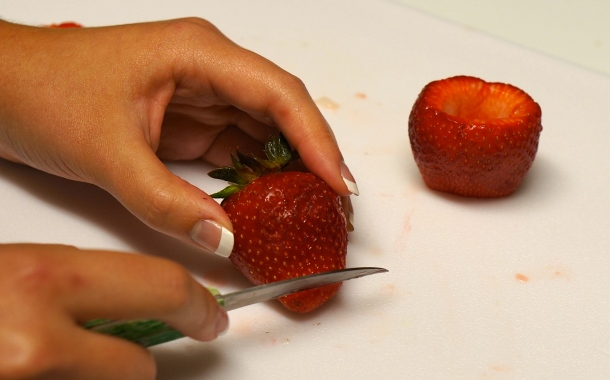 making-shots-in-strawberries