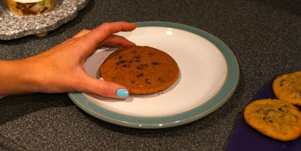 ice cream cookie sandwich steps