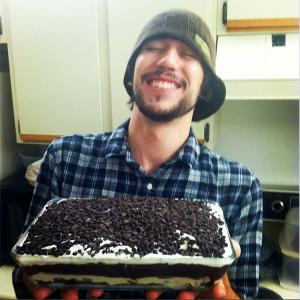 Chocolate lasagna birhday