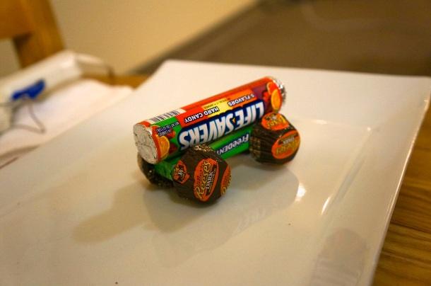 candy train base