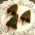 Brownie Christmas Trees